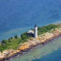 Isle Royale Light (Menagerie Island Light)