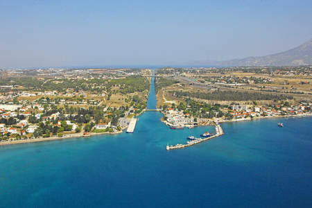 Korinthos Channel South Inlet