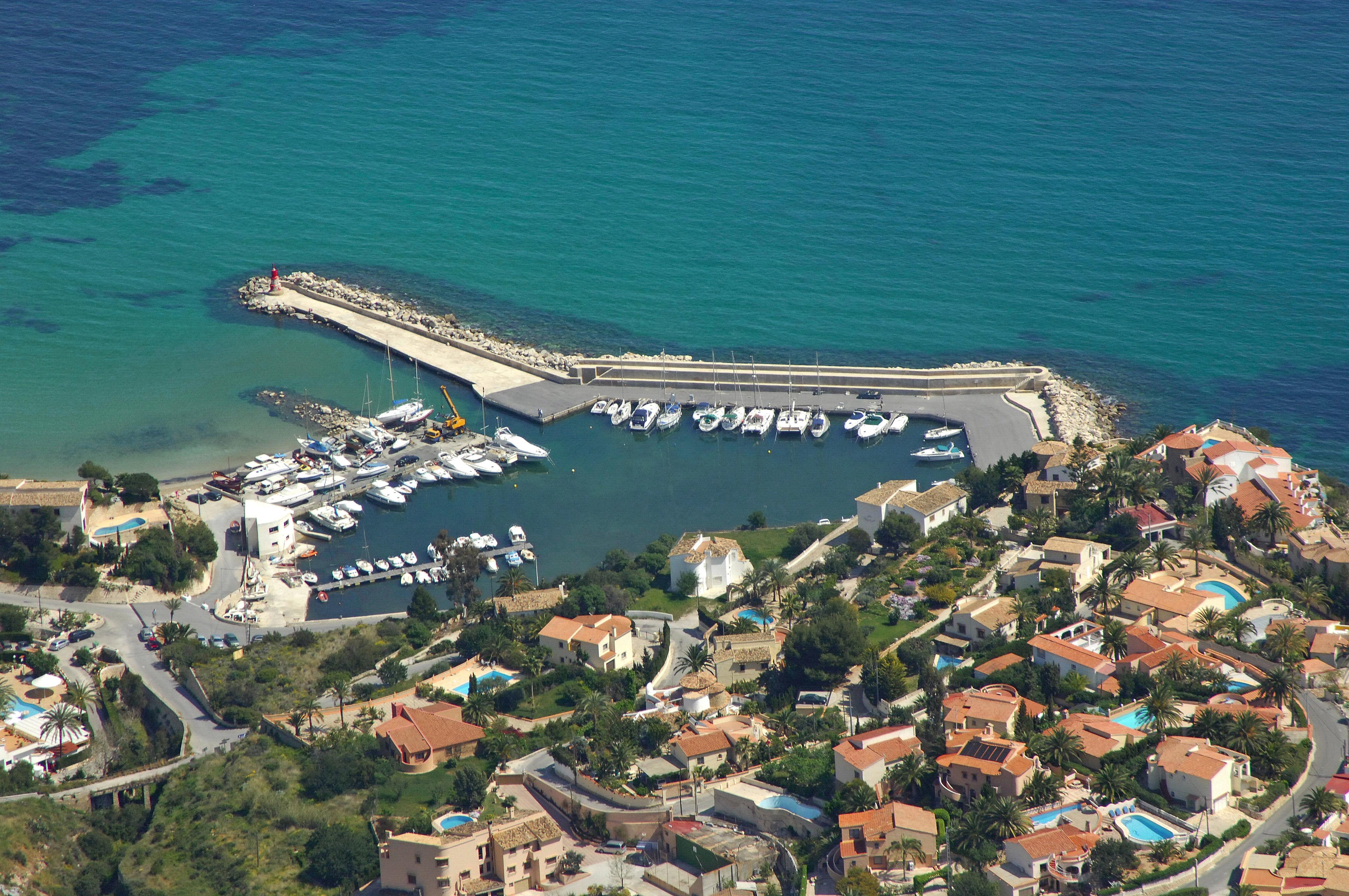 Puerto blanco marina in calpe alicante spain marina reviews phone number - Puerto rico spain weather ...