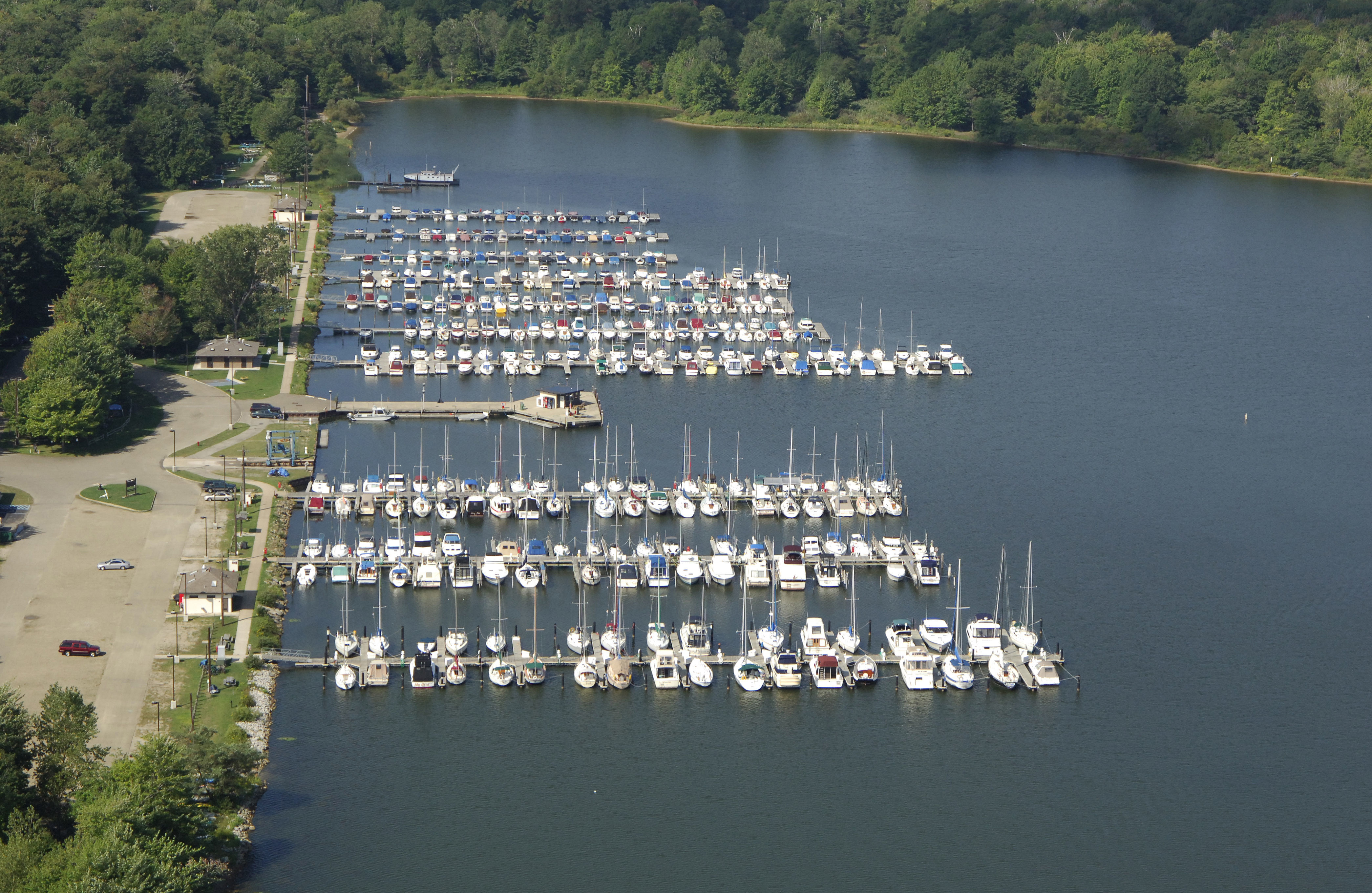 Presque Isle State Park Marina In Erie Pa United States
