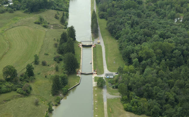 Champlain Canal Lock 10