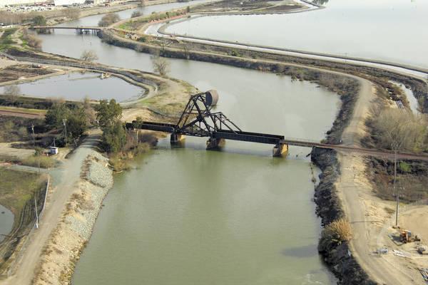 Stockton Railroad Bascule Bridge