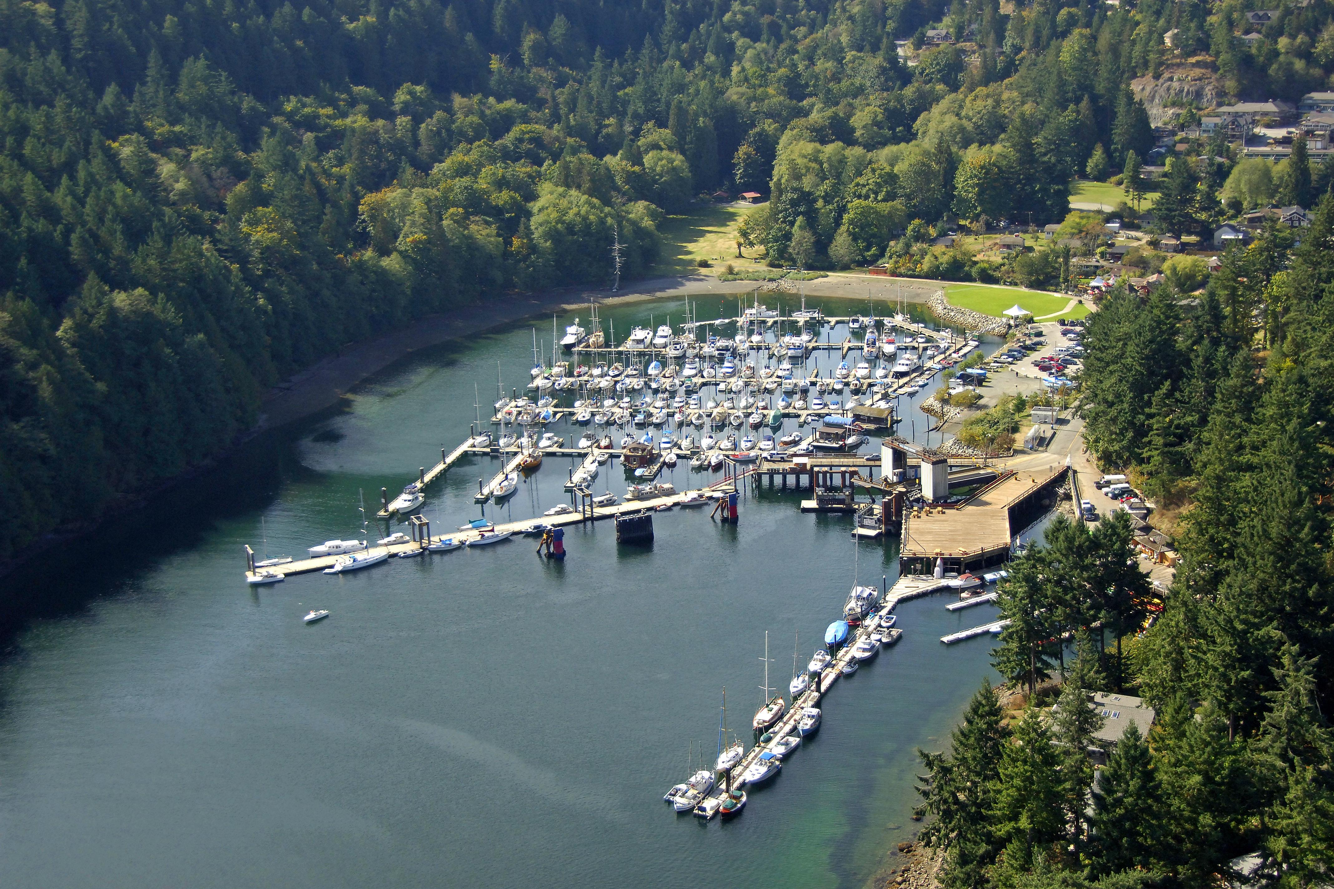 Bowen Island Ferry In Bc