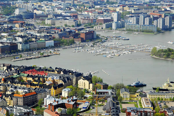 Helsinki Pohjoissatama Harbour