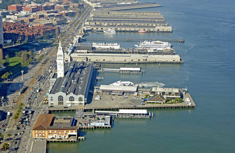 Port of San Francisco Ferry Terminal