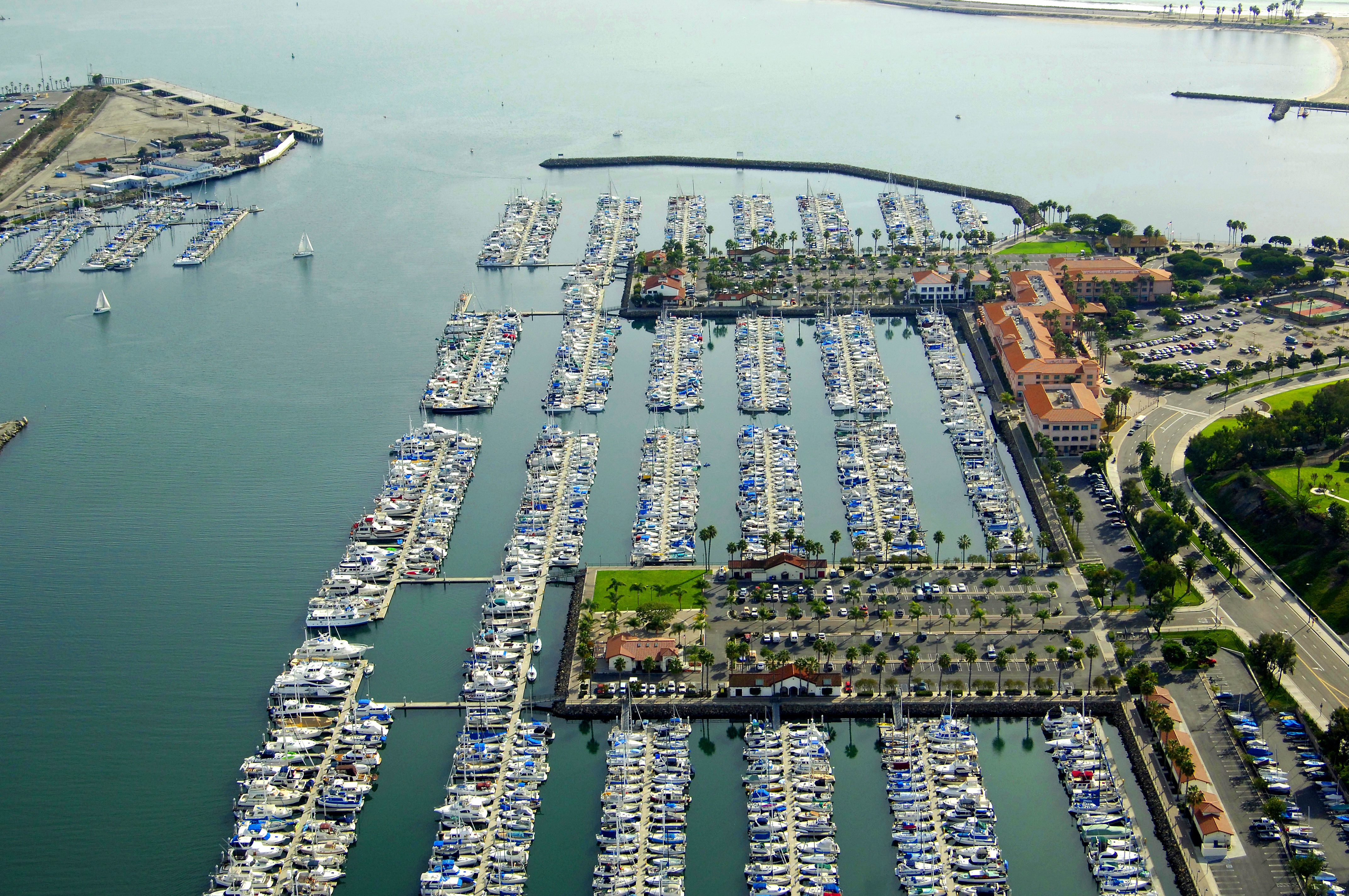 cabrillo marina a california yacht marina in san pedro ca united