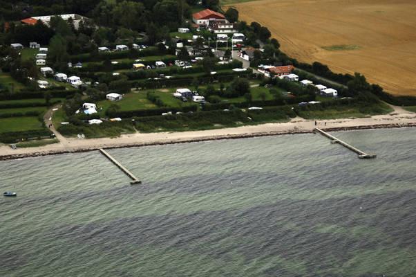 Emmerbølle Strand Bådebro