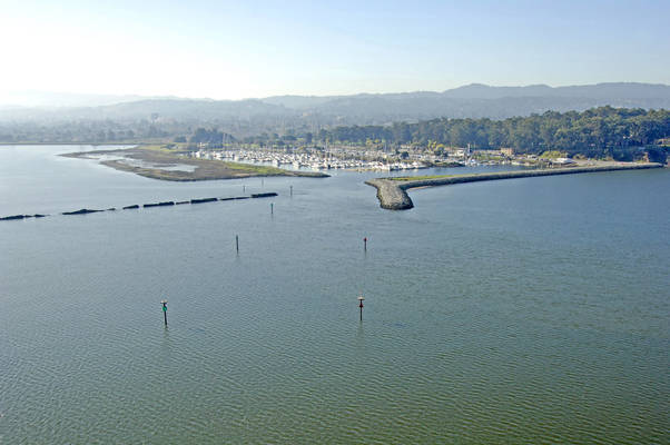 Coyote Point Harbor Inlet