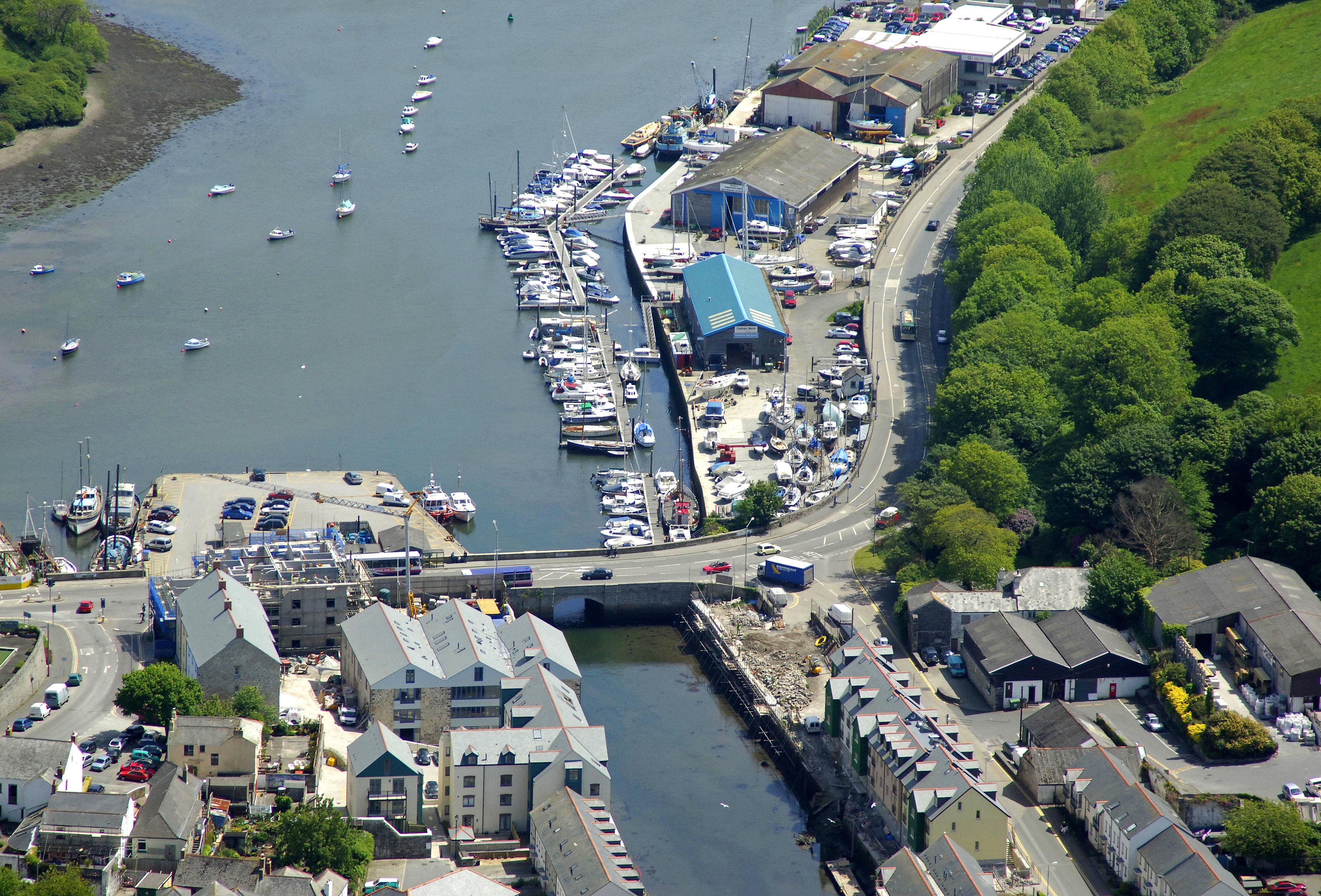 Challenger Marine In Penryn Cornwall Gb United Kingdom