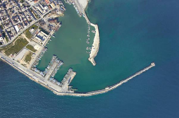 Mazara Del Vallo Commercial Marina