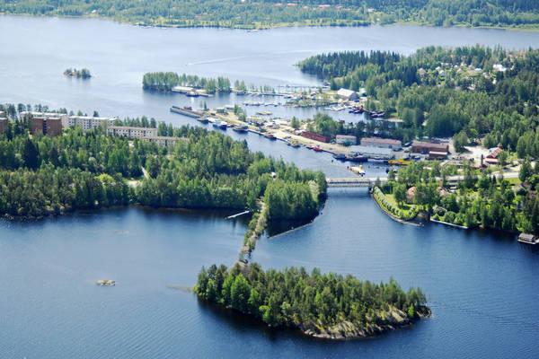 Savonlinna Sortteerinlahti Harbour