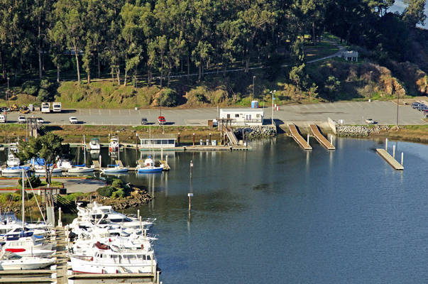 Coyote Point Fuel Dock