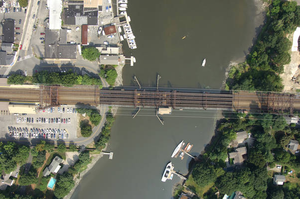 New York New Haven & Hartford RailRoad Bridge Saugatuck