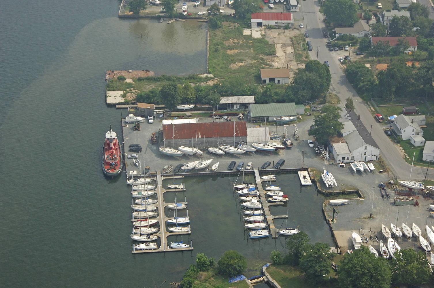 Havre De Grace Marina at Water Street slip, dock, mooring