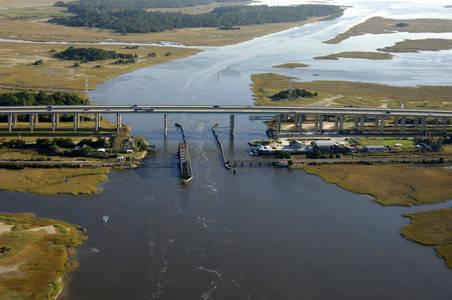 Amelia River Railroad Swing Bridge