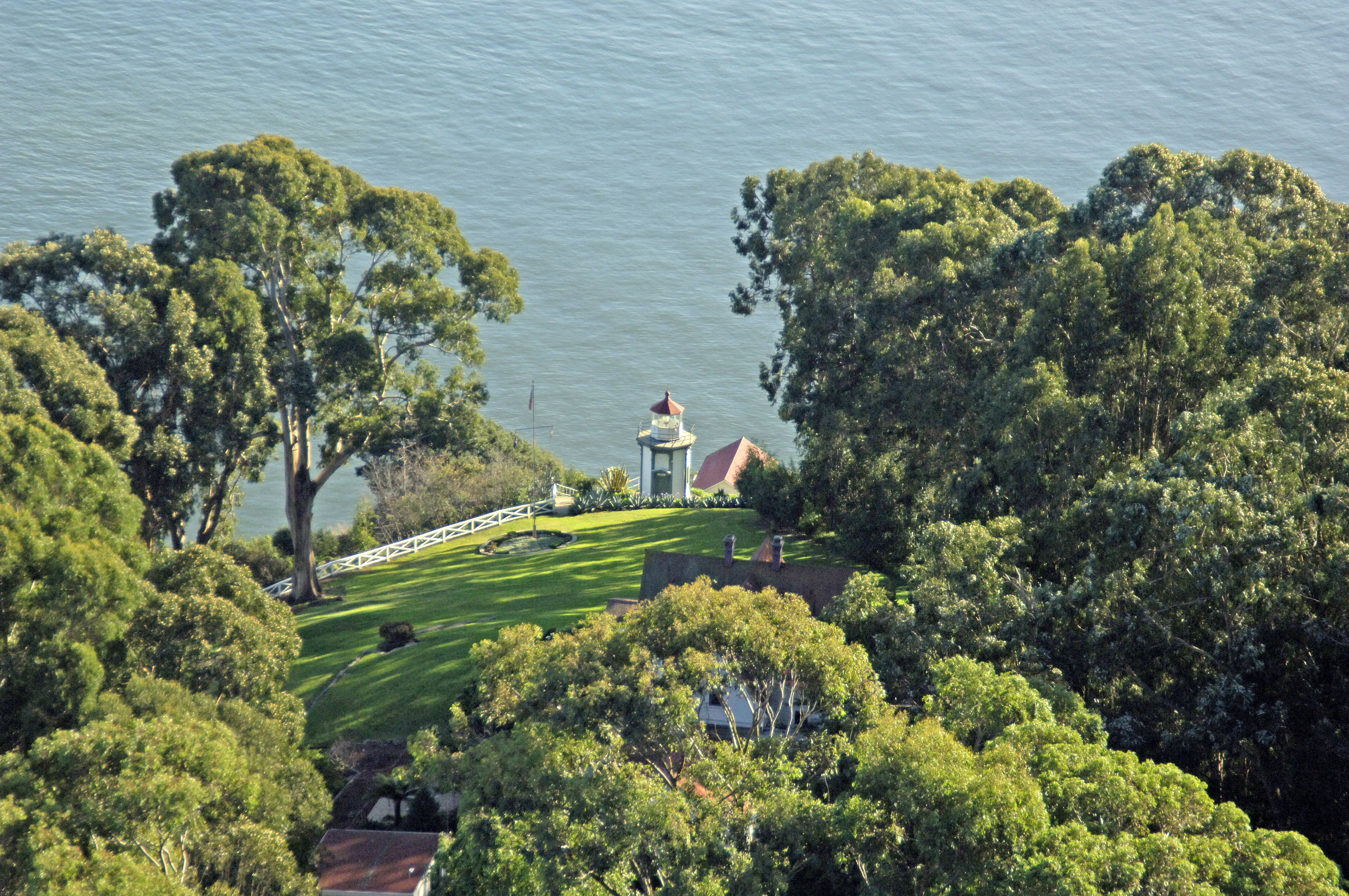 Yerba Buena Island Lighthouse In Ca United States