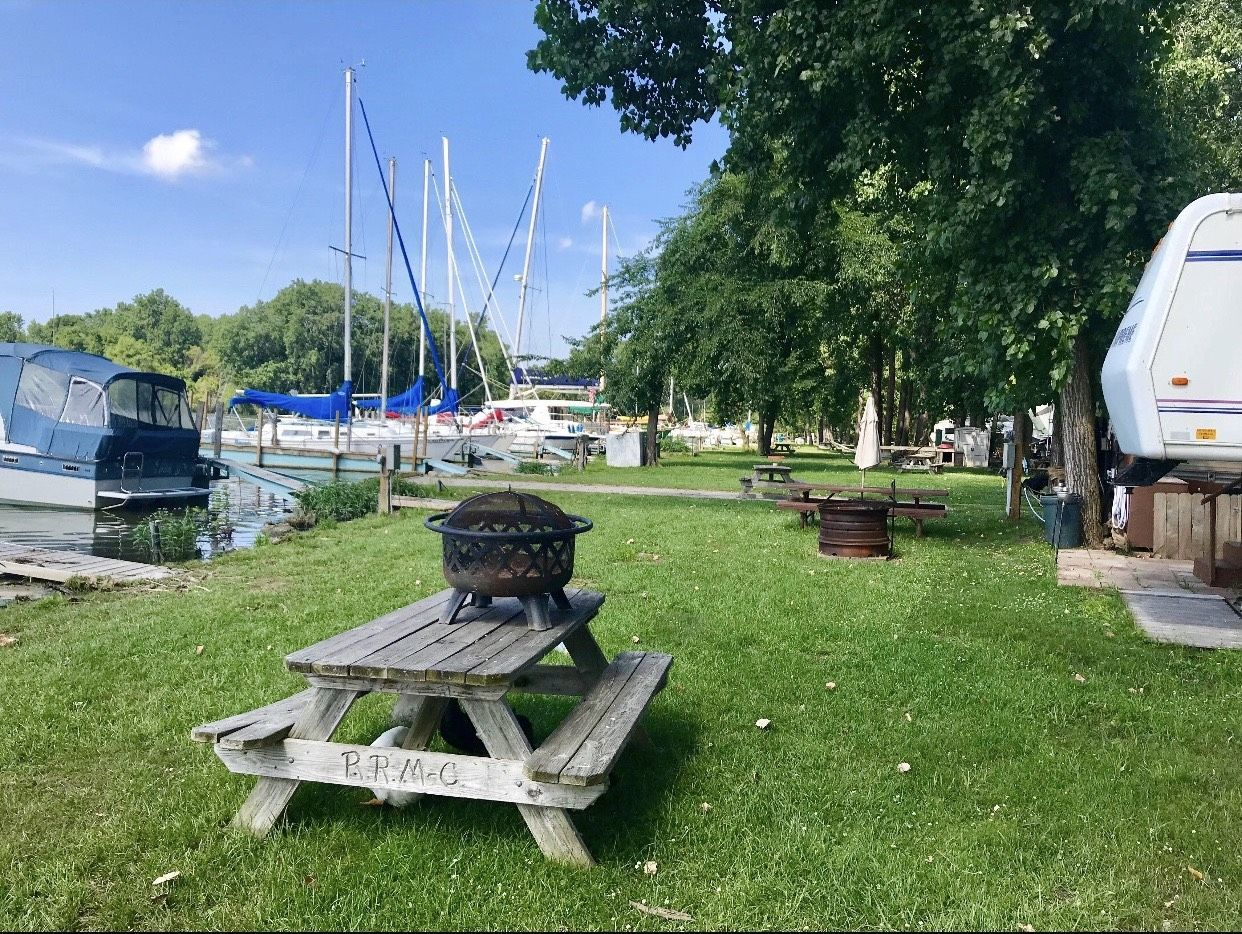 River Raisin Marina and Campground in Monroe, MI, United