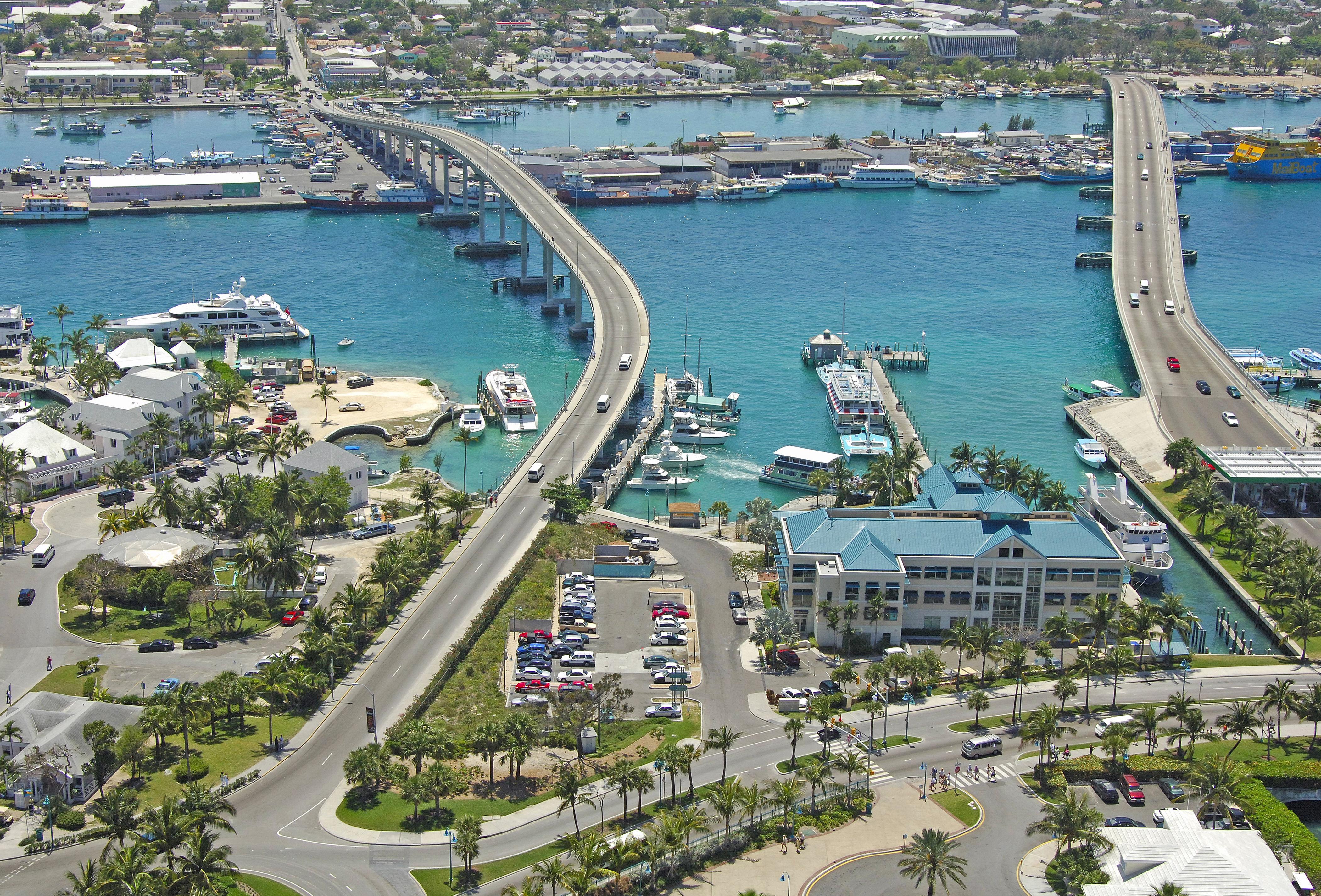 Paradise Island Charter Dock In Paradise Island, Bahamas