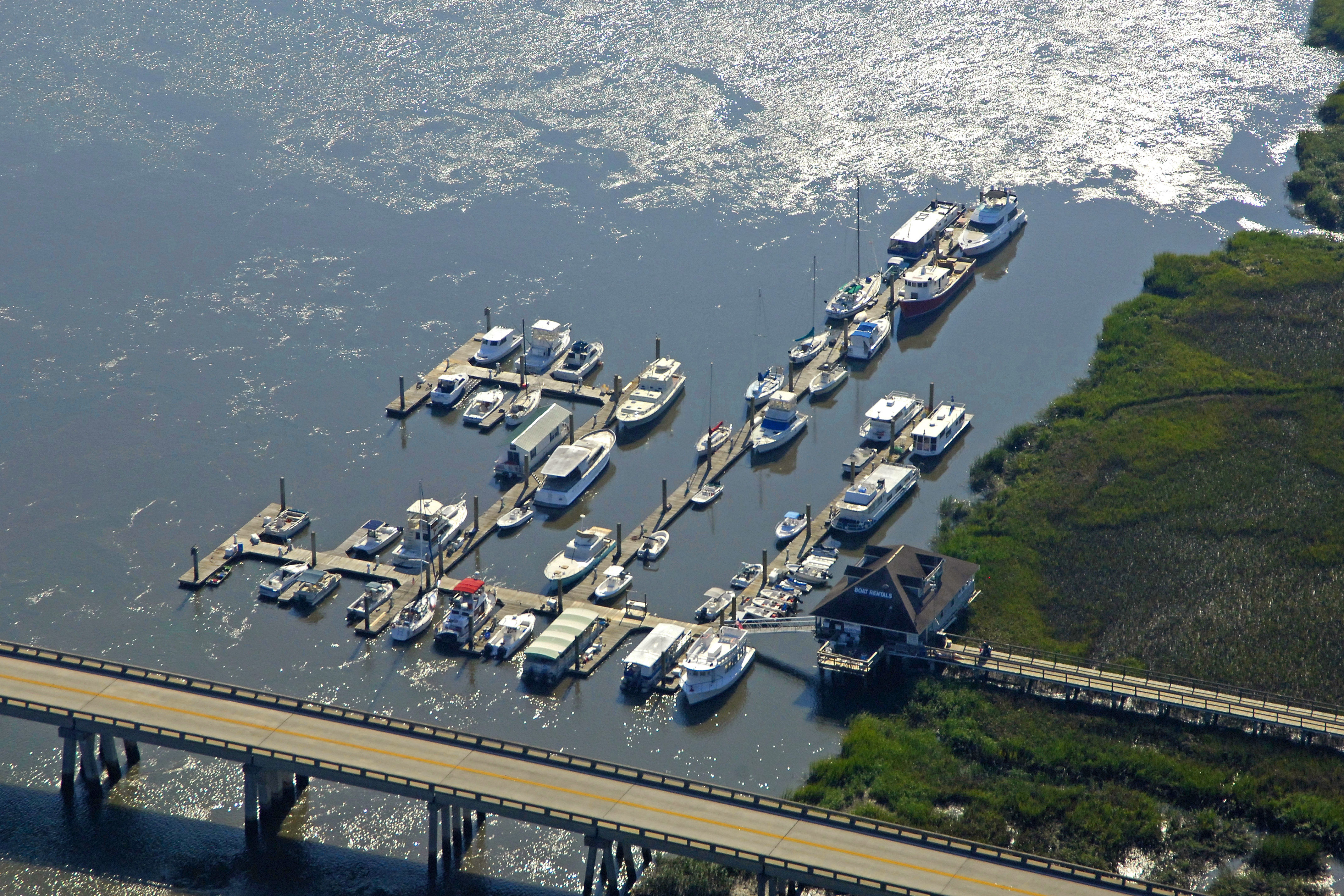 Bull river marina in savannah ga united states marina reviews bull river marina nvjuhfo Images