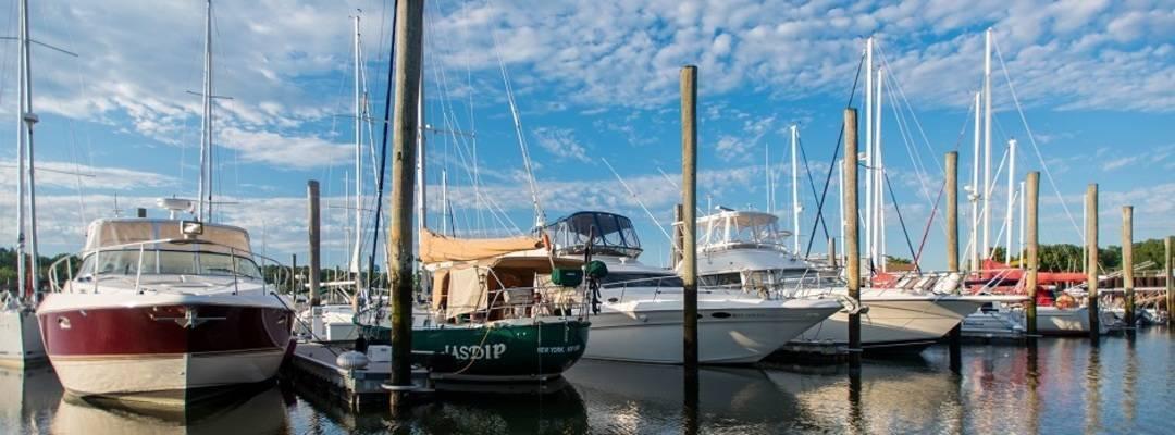 Brewer Yacht Yard at Glen Cove
