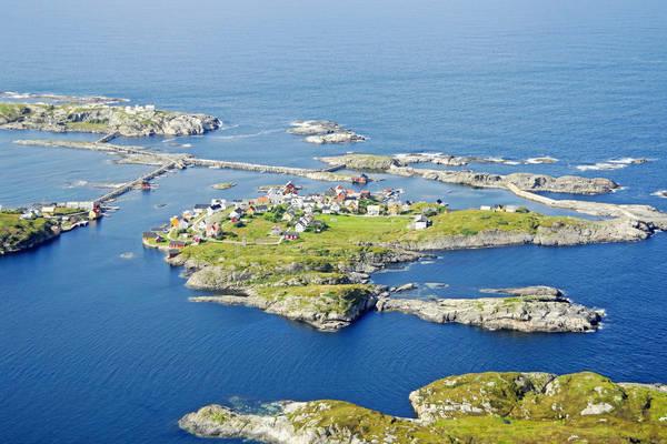 Nordre Bjornsund Harbour