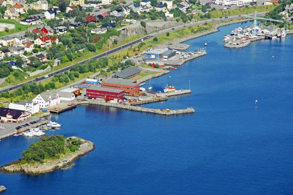 Alesund Norvevika Fishing Harbour