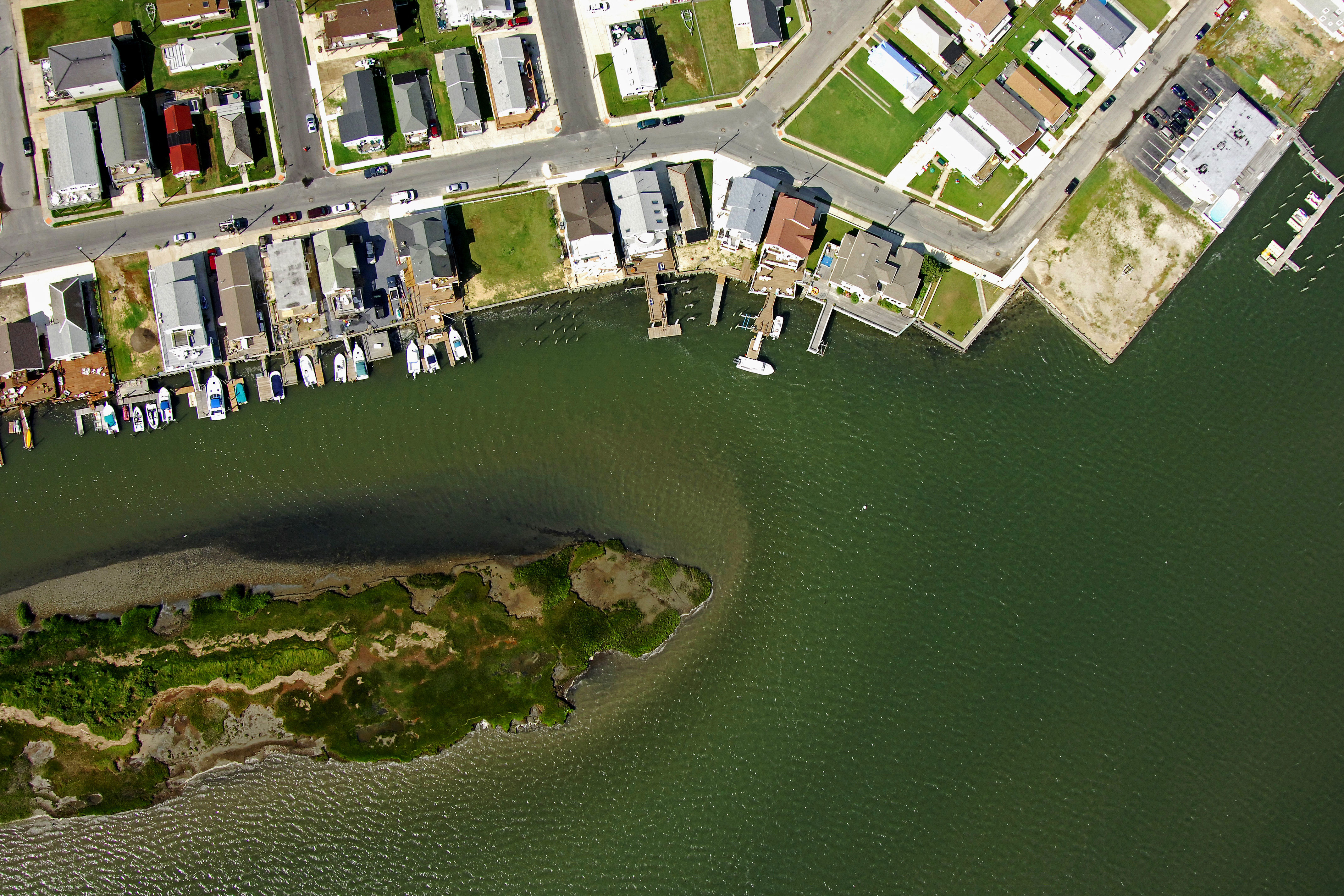 Wildwood Canal Inlet In West Wildwood Nj United States Inlet