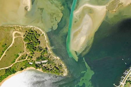Ninska Laguna Inlet