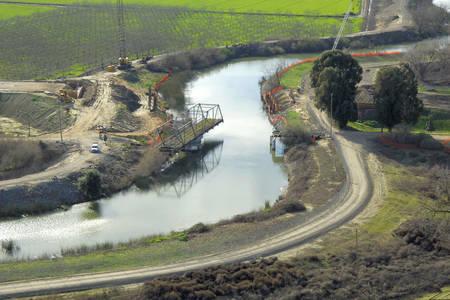 Daggett Road Swing Bridge