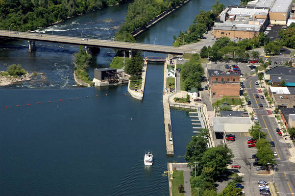 Oswego Canal Lock 3