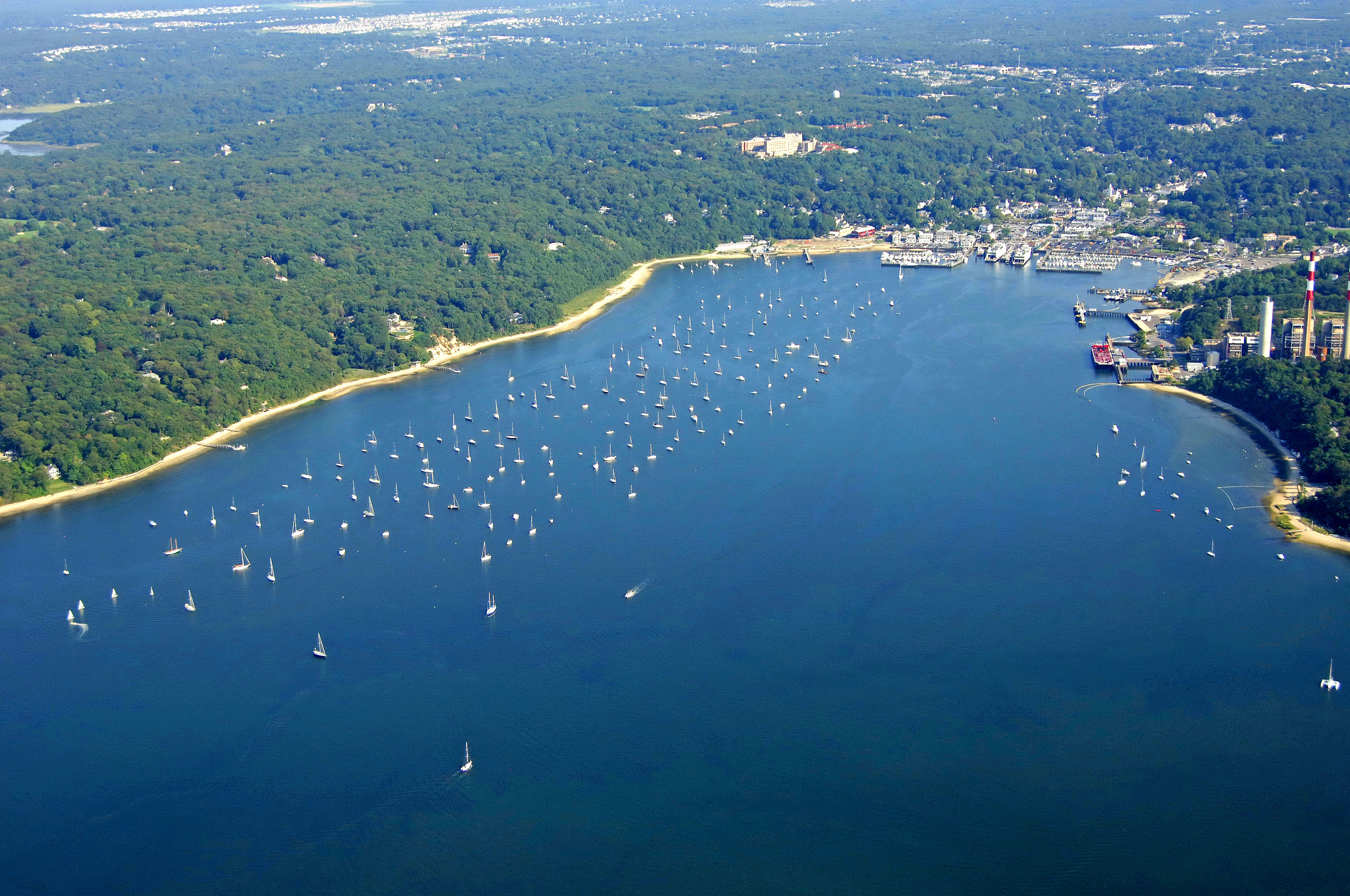 Port jefferson harbor in ny united states harbor for Port jefferson fishing