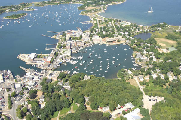 Woods Hole Harbor and Eel Pond