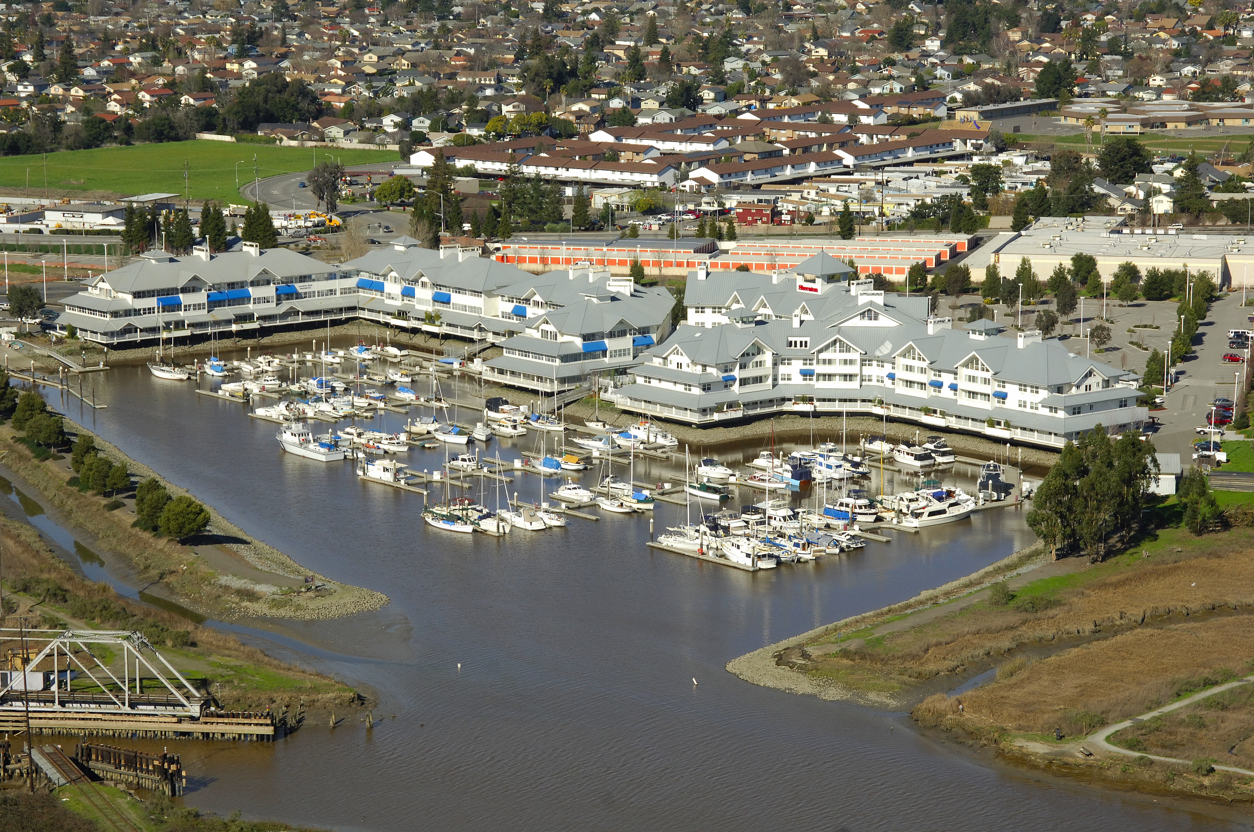 Petaluma Marina In Petaluma Ca United States Marina