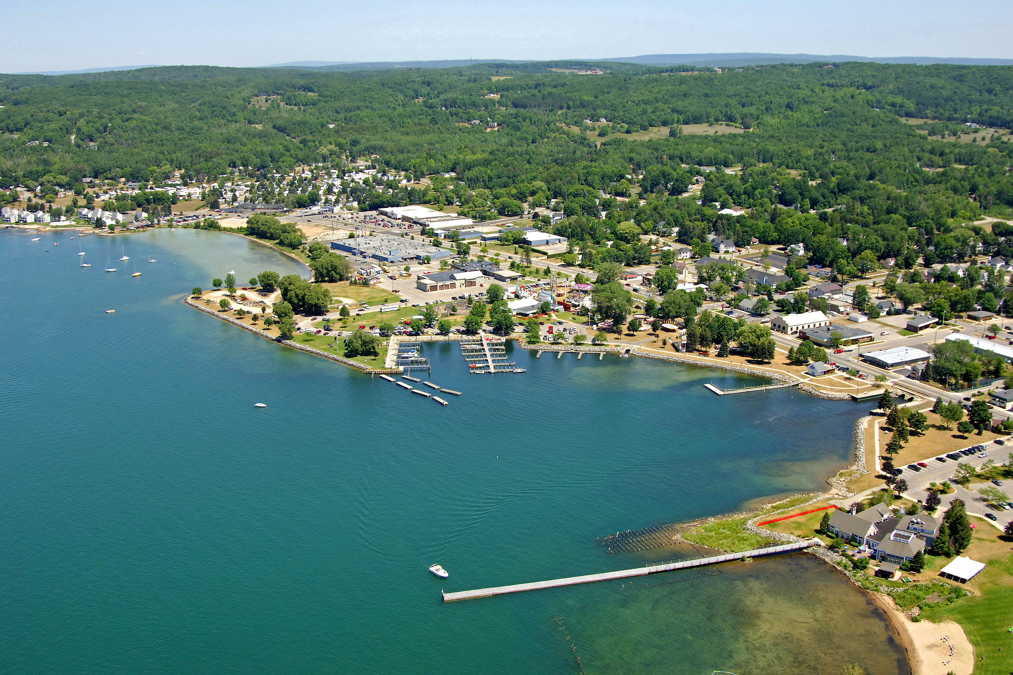 Boyne City Mi >> F Grant Moore Municipal Marina In Boyne City Mi United States