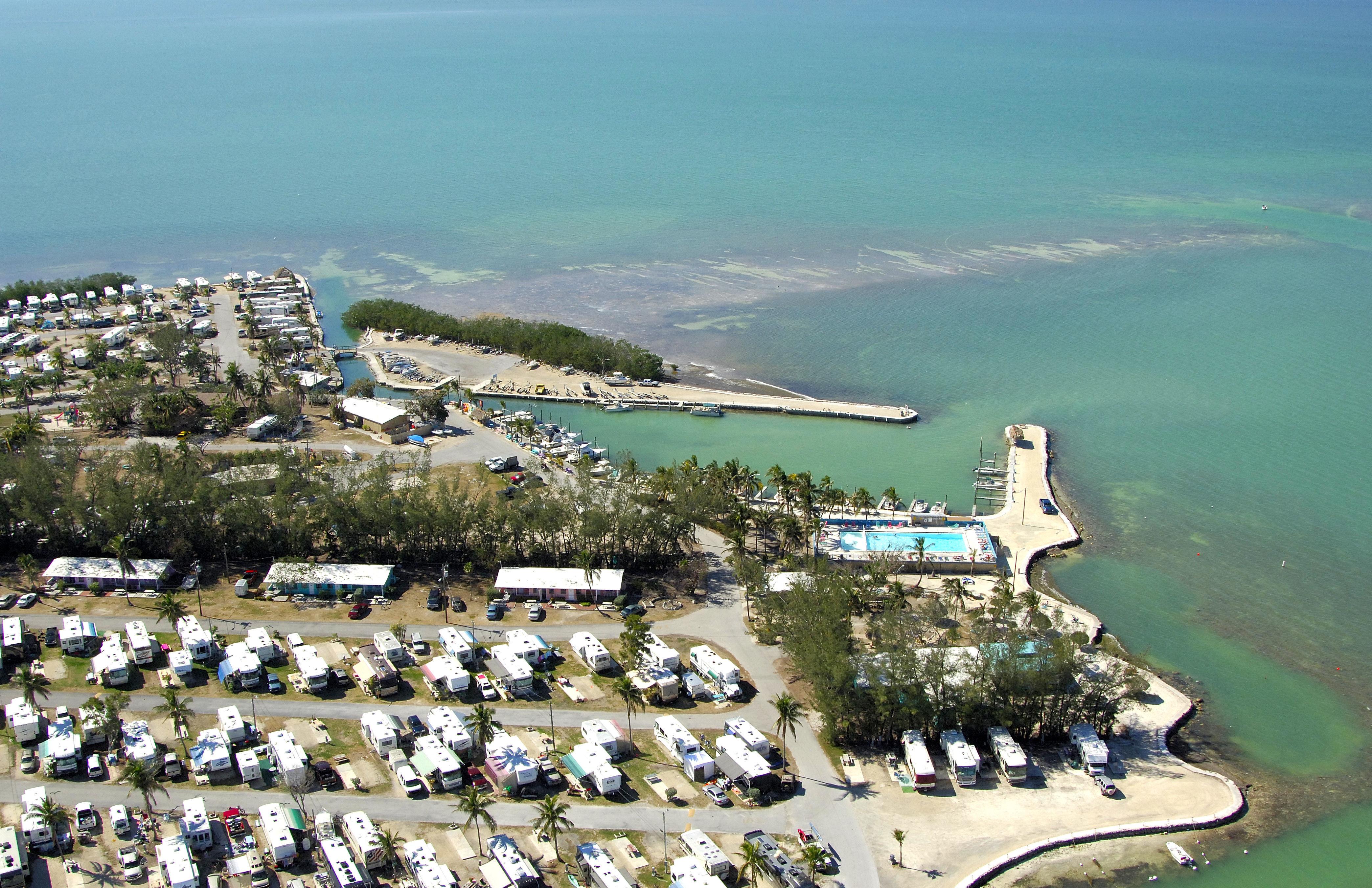 Fiesta Key Rv Resort And Marina In Long Key Fl United