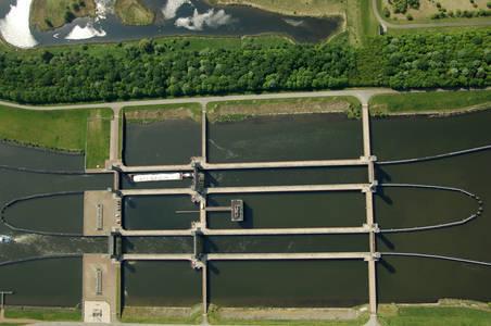 Schelde Rijnverbinding Spui Canal Lock