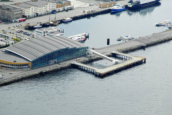 Trondhiem Crucebathavn Harbour