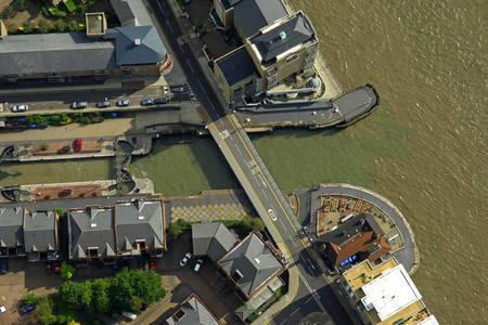 Limehouse Basin Lift Bridge