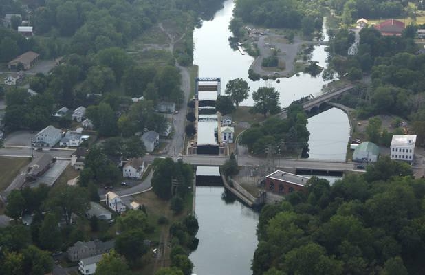 Cayuga Seneca Canal Lock 4