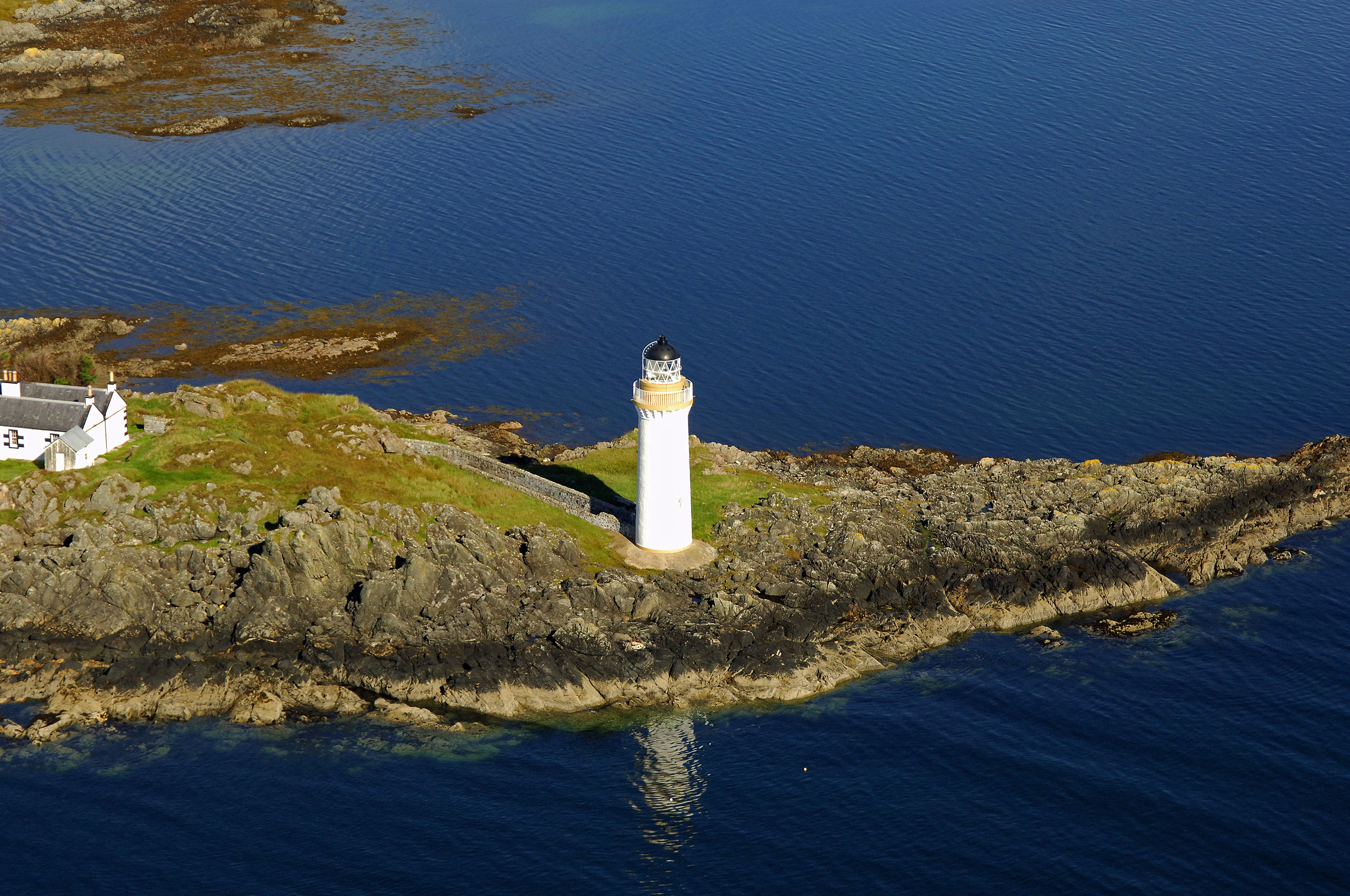 Ornsay Lighthouse in Isle Ornsay, SC, United Kingdom ...