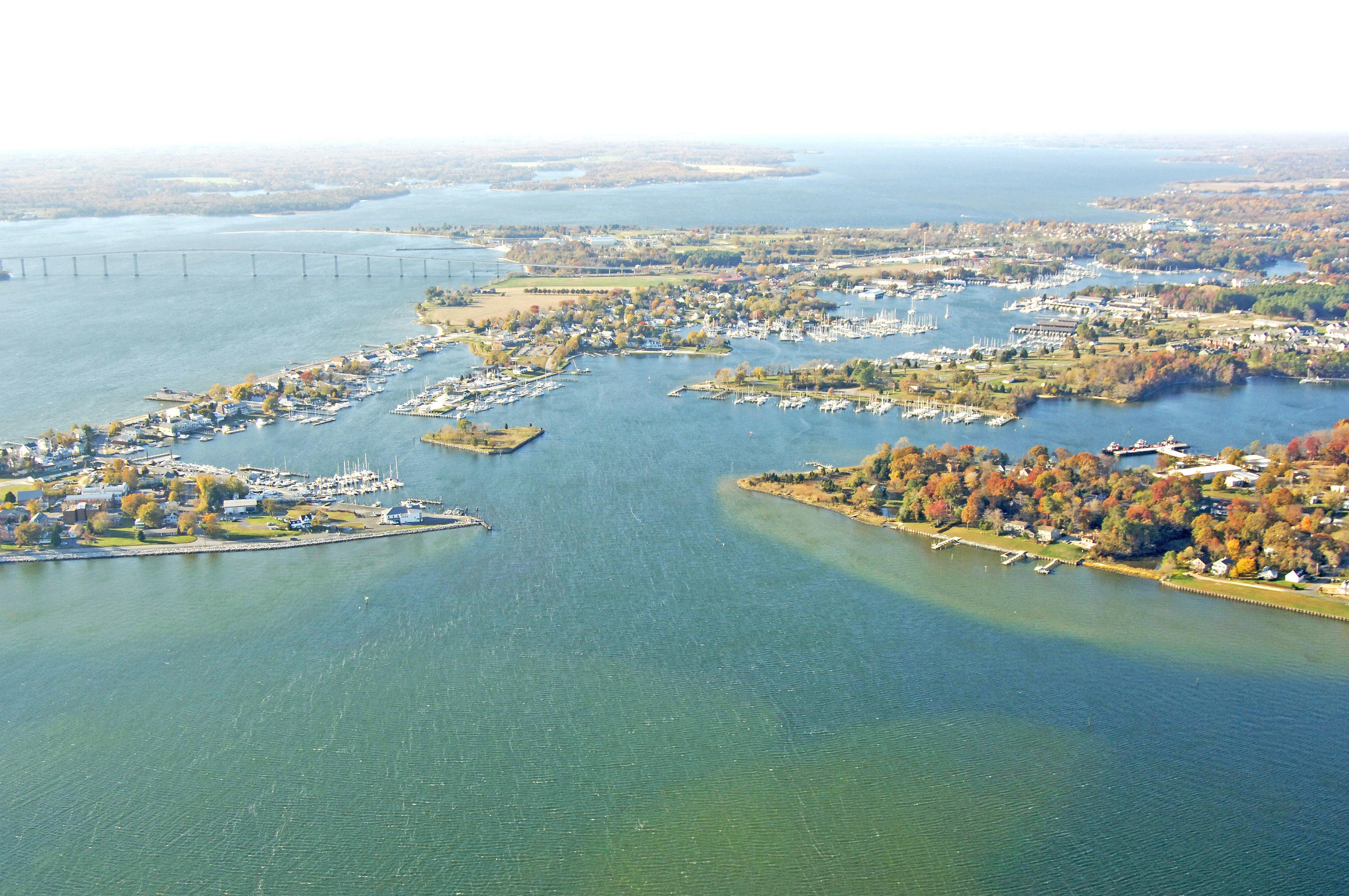 Solomons Island Harbor Harbors Maryland