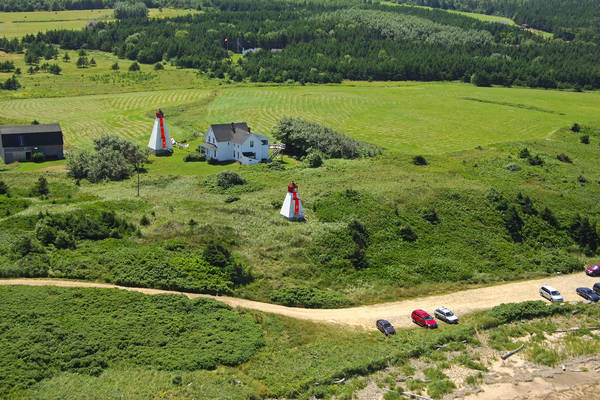 Margaree Harbour Range Lighthouse East