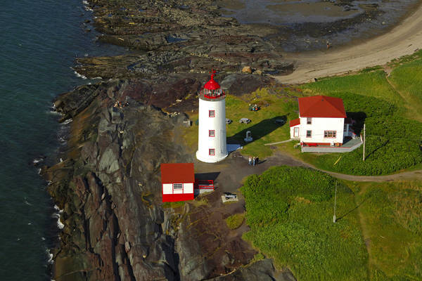 Ile Verte Lighthouse