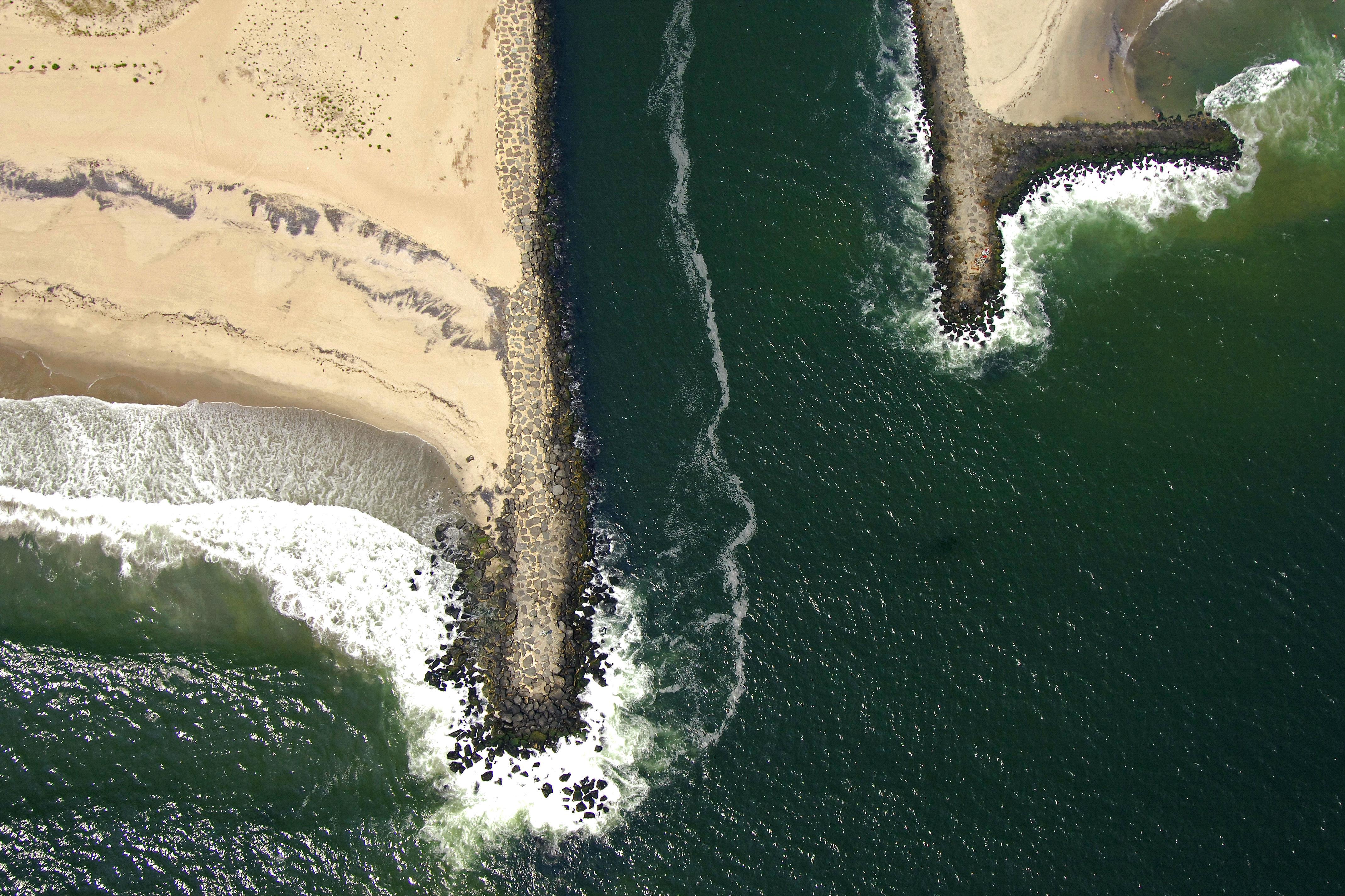 Shark River Inlet In Belmar Nj United States Inlet Reviews