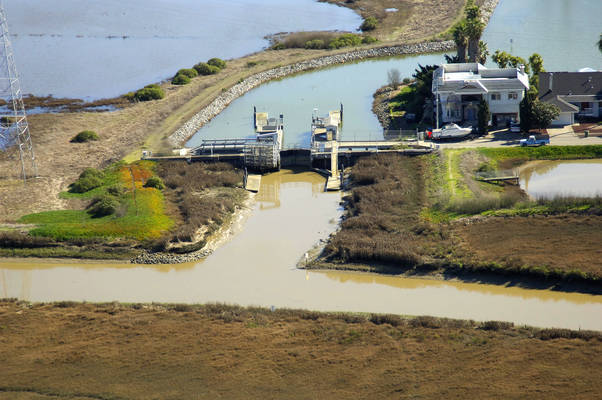 Novato Creek Lock 1
