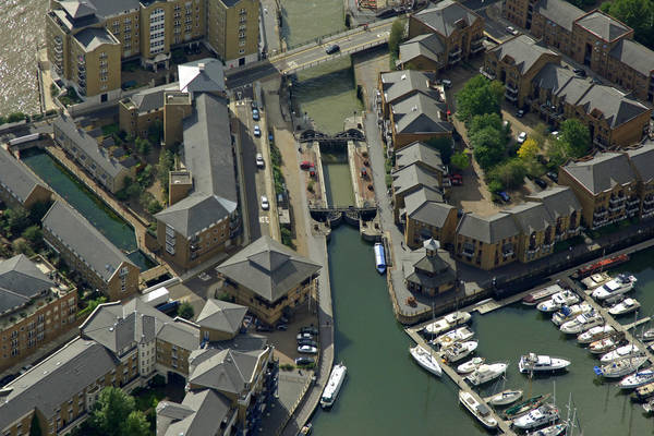 Limehouse Basin Lock