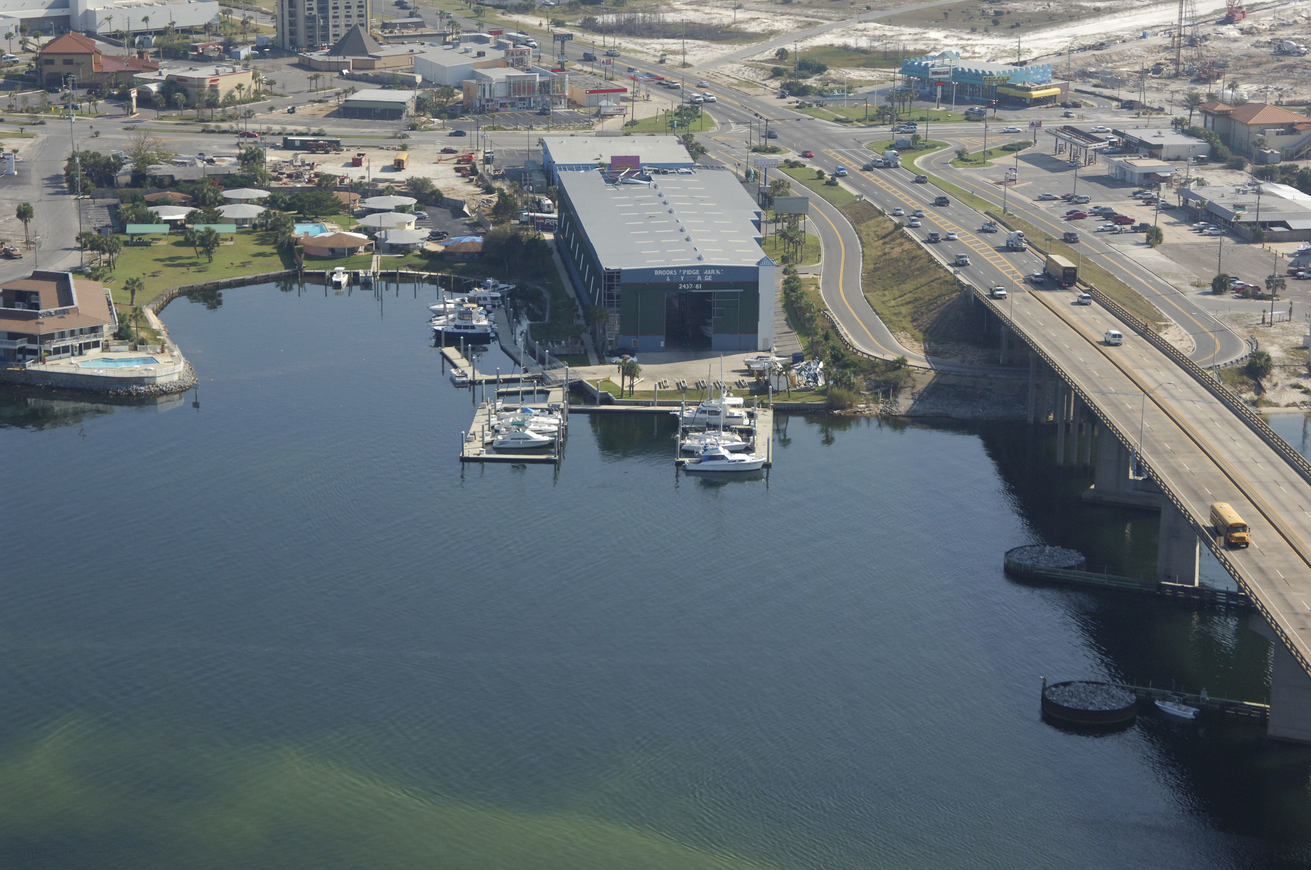 Brooks Bridge Marina Amp Dry Storage In Fort Walton Bch Fl