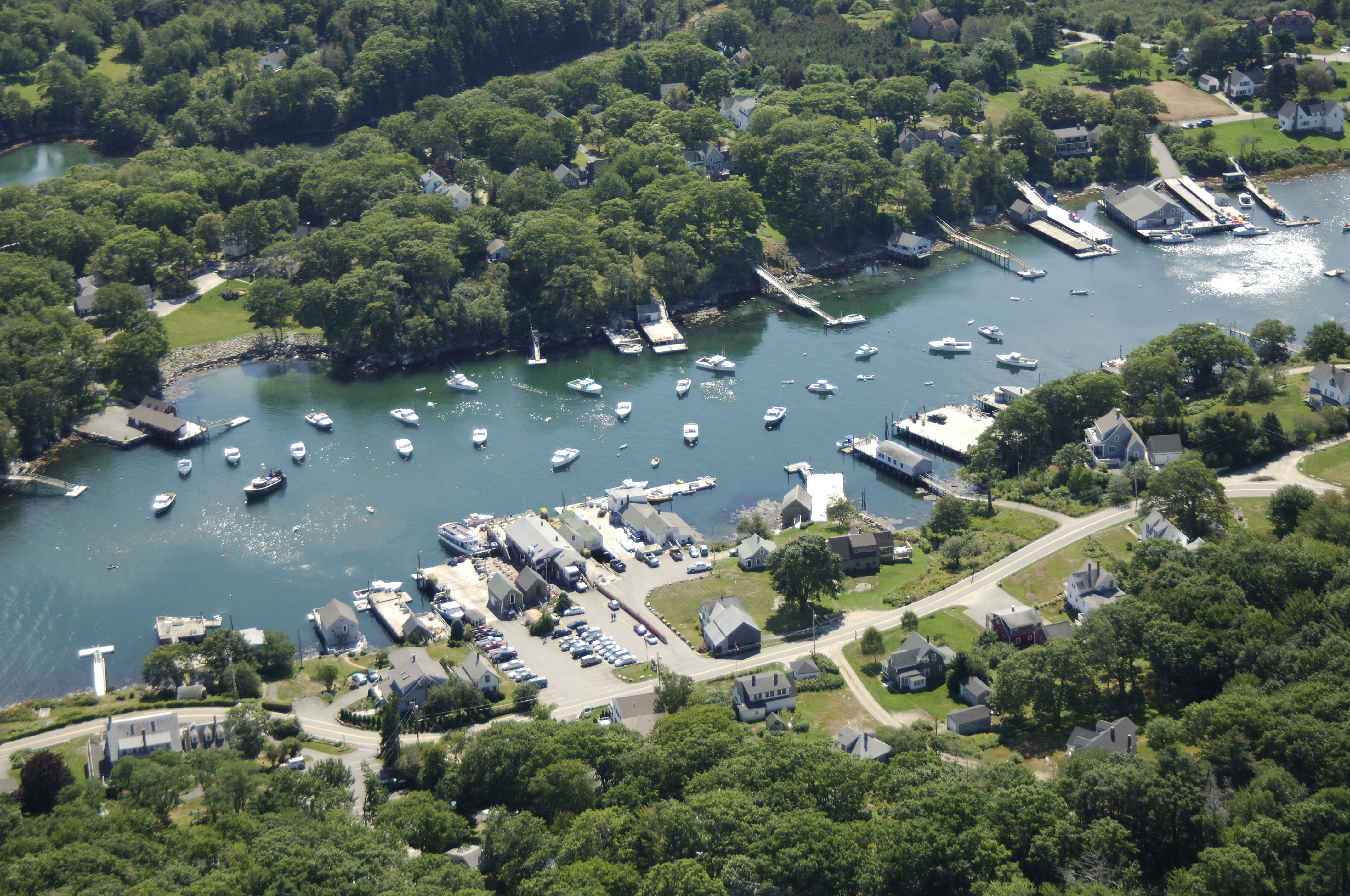 New Harbor Overview In New Harbor Me United States