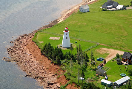 Panmure Island Light (Panmure Head Light)