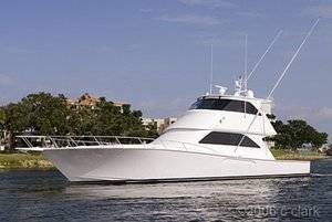 New 2007 Viking 56 Enclosed Bridge
